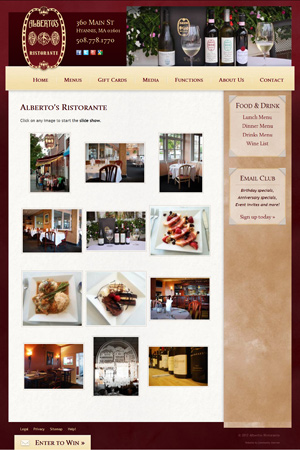 Alberto's Ristorante - Photo Gallery page