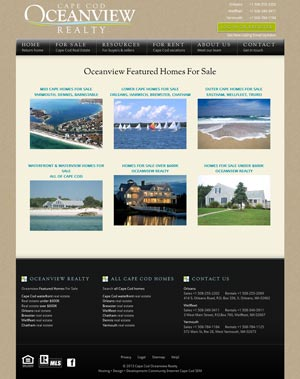 Cape Cod Oceanview Realty Featured Listings