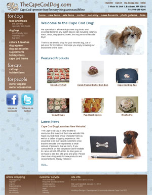 The Cape Cod Dog: Homepage