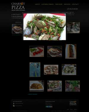 Chariot Pizza Fine Catering Photo Gallery
