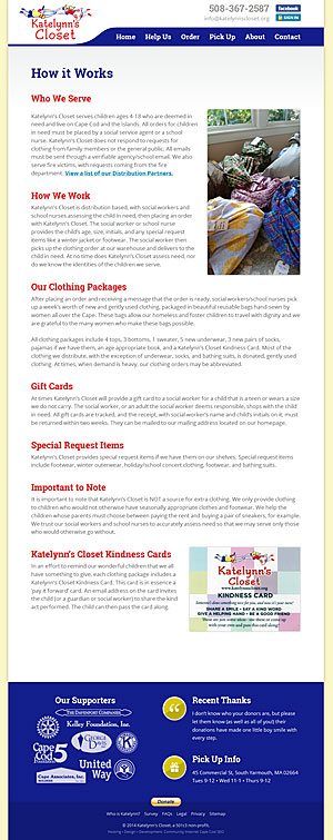 Katelynn's Closet - How It Works page