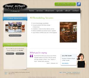 Thomas Michaels Kitchens - All Remodeling Services page