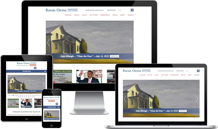 Nantucket website design
